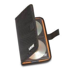 UDG Ultimate CD Wallet 24 Black, Orange Inside