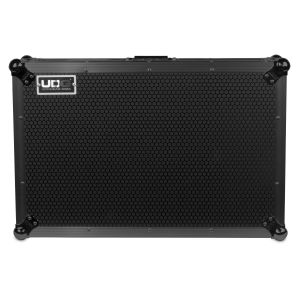 UDG Ultimate Flight Case Denon DJ MC7000 Black MK2 Plus (Laptop Shelf)