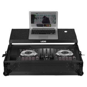 UDG Ultimate Flight Case Pioneer DDJ-SB2/ SB3/ DDJ-400 Black MK2 Plus (Laptop Shelf)