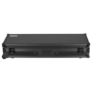 UDG Ultimate Flight Case Set PLX9/SL1200 Black MK2 Plus (Laptop Shelf + Wheels)