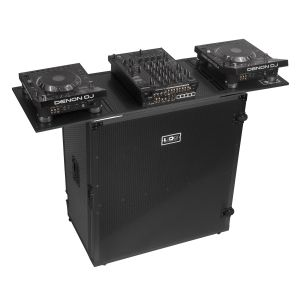 UDG Ultimate Fold Out DJ Table Black Plus (Wheels)