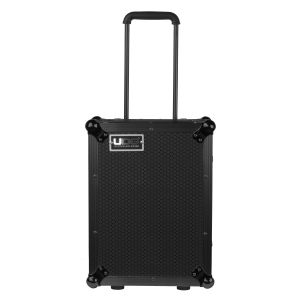 UDG Ultimate Flight Case Multi Format CDJ/ Mixer II Black Plus (Trolley & Wheels)