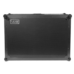 UDG Ultimate Flight Case Scratch Black Plus (Laptop Shelf + Wheels)