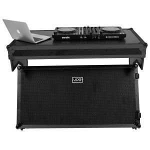 UDG Ultimate Flight Case Portable Z-Style DJ Table Black Plus (Wheels)