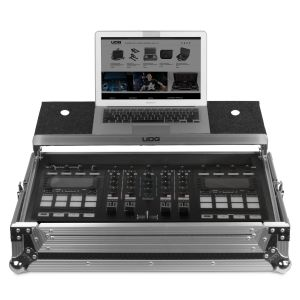 UDG Ultimate Flight Case NI Traktor Kontrol S5/S4 Silver Plus (Laptop Shelf)
