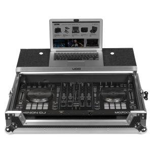 UDG Ultimate Flight Case Denon DJ MC7000 Silver Plus (Laptop Shelf)