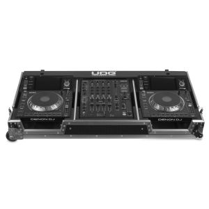 UDG Ultimate Flight Case Set Denon DJ SC5000/ X1800 Silver Plus (Wheels)