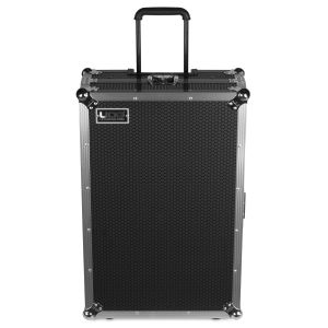 UDG Ultimate Flight Case Multi Format XXL Silver Plus (Laptop Shelf, Trolley & Wheels)