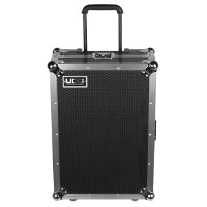 UDG Ultimate Flight Case Multi Format XL Silver Plus (Laptop Shelf, Trolley & Wheels)