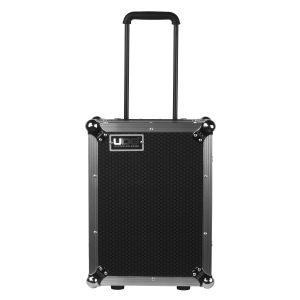 UDG Ultimate Flight Case Multi Format CDJ/ Mixer II Silver Plus (Trolley & Wheels)