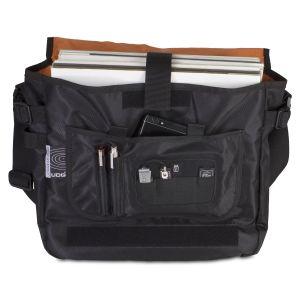UDG Ultimate CourierBag Black Orange Inside
