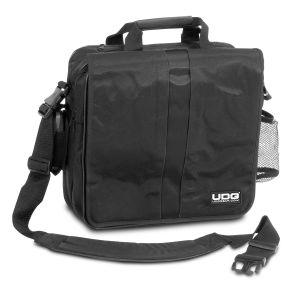 """UDG Ultimate CourierBag DeLuxe 17"""" Black, Orange Inside"""