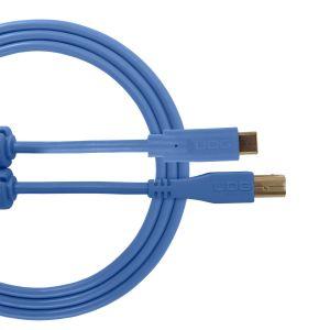 UDG Ultimate Audio Cable USB 2.0 C-B Light Blue Straight 1.5m
