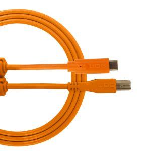 UDG Ultimate Audio Cable USB 2.0 C-B Orange Straight 1.5m