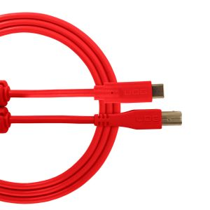 UDG Ultimate Audio Cable USB 2.0 C-B Red Straight 1.5m