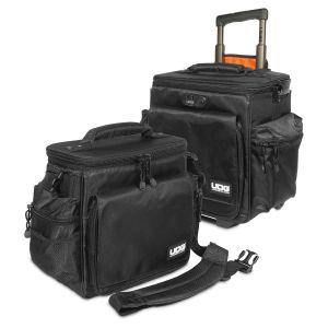 UDG Ultimate SlingBag Trolley Set DeLuxe Black/Orange Inside MK2