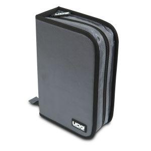 UDG Ultimate CD Wallet 100 Steel Grey, Orange Inside