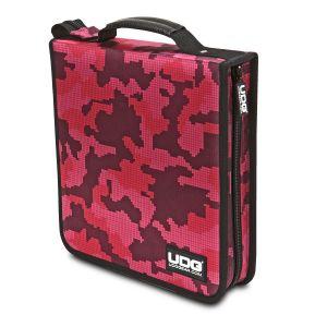 UDG Ultimate CD Wallet 128 Digital Camo Pink