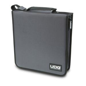 UDG Ultimate CD Wallet 128 Steel Grey, Orange Inside
