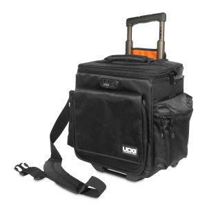 UDG Ultimate SlingBag Trolley DeLuxe Black, Orange Inside MK2