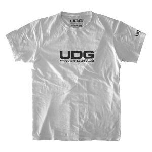 UDG T-Shirt Japanese Text Logo White/ Black