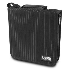 UDG Ultimate CD Wallet 128 Black/Grey Stripe