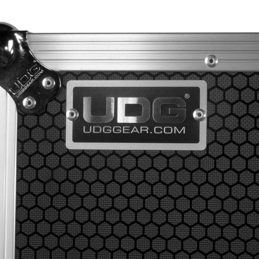 High grade aluminium UDG logo plate