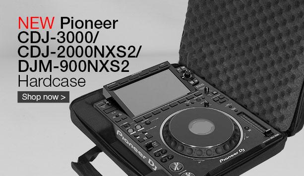 UDG Creator Pioneer CDJ-3000/ 2000NXS2/ DJM-900NXS2 Hardcase Black